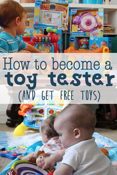 This blogger gets free toys every year before Christmas as a toy tester! Read this post to see how she does it! She includes links to sign up to become a toy tester with the companies that she has worked with in the past. How to become a toy tester. How to become a toy tester (and get free toys) http://eatdrinkandsavemoney.com/2016/08/29/become-toy-tester-get-free-toys/