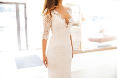 Ave wedding dress by VESNA SPOSA Lace Wedding, Wedding Dresses, Weddings, Formal Dresses, Fashion, Bridal Dresses, Moda, Bridal Gowns, Wedding Gowns