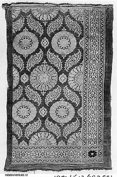 Textile Patterns, Print Patterns, Textiles, Turkey Culture, Border Pattern, Islamic Art, One Color, Damask, Lucknowi Suits