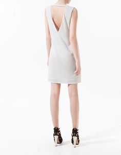 DRESS WITH DOUBLE BREASTED LAPEL - Dresses - Woman - ZARA United States
