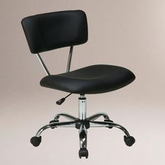One of my favorite discoveries at WorldMarket.com: Black Task Chair