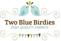 Two Blue Birdies - High Quality Fabrics