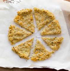 Vegan Cauliflower Pizza Crust with Chickpeas