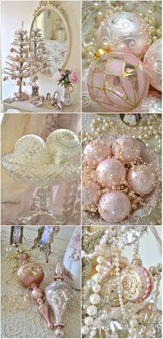 Christmas Decorations ● Pink Christmas.