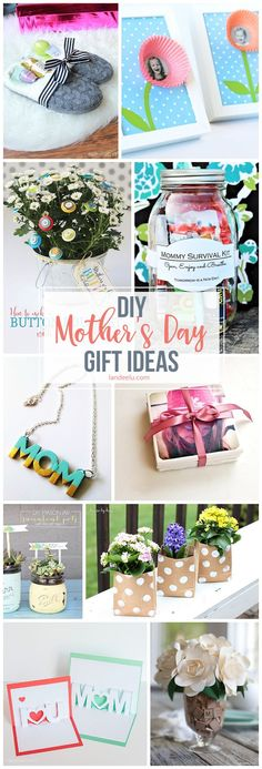 Secure your spot as favorite child and make one of these awesome DIY mother's day gifts for mom this year! Lots of fun tutorials and FREE Printables