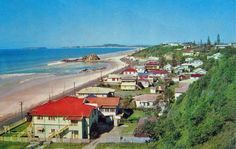 Currumbin 1960 -- I wish I'd been able to see it like this. If I found something similar (no tacky new shops or houses to ruin it) I would move and never leave.