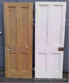 Awesome Painting: How to Strip Paint Off a Door the Right Way