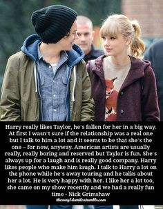 I would like Haylor but after what she called Niall. I dislike Haylor and DO NOT ship it Just Deal With It, Just Be Happy, Im Happy, Let It Be, Harry Taylor, Taylor Swift Quotes, Thing 1, Dramione, Gifts For Office