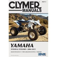 Clymer Yamaha YFZ450 & YFZ450R (2004-2013)