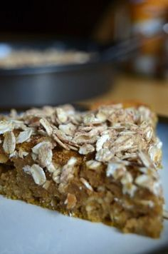 Light Pumpkin Coffee Cake with less calories and fat, but all of the delicious pumpkin and spice flavor, this easy coffeecake recipe is perfect for a fall brunch or breakfast.