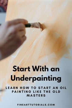 The underpainting technique is a useful one to know! Plan the composition and structure of the piece before you start. Or paint like the old masters and apply glazes over the top. #underpainting #oilpainting #oilpaintingtechnique #paintingtechniques #imprimatura #oldmasters #oilpaint #oilpainter #painter #acrylicpainting #paintingtutorials #arttips #arttutorials Art Tutorials, Painting Tutorials, Oil Painting Techniques, Oil Painters, Old Master, Color Theory, Art Tips, Color Mixing, Old Things