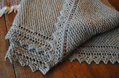 """""""Truly Tasha Shawl""""  a Nancy Bush pattern - on my blog www.kysheepdreams.com"""