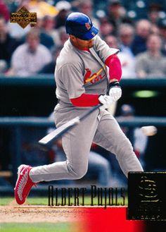 Great looking card,. Upper Deck Baseball Cards, Ichiro Suzuki, Albert Pujols, Football And Basketball, St Louis Cardinals, Trading Cards, Sports, Mint, Coupon Organization