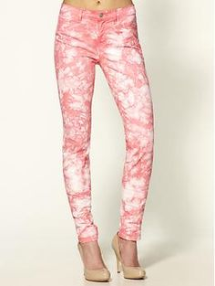love printed jeans this fall!