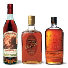 Buy Dad a nice bottle of whiskey from Kentucky distilleries. Here are our editors picks: Pappy Van Winkle, Elmer T. Bourbon Sour, Bulleit Bourbon, Bourbon Whiskey, Whiskey Drinks, Whiskey Bottle, The Distillers, Distillery, Fathers Day Gifts, Brand Packaging