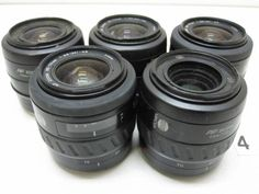 5L171FA MINOLTA 35-70mm F3.5-4.5 レンズまとめて5本ジャンク_画像1