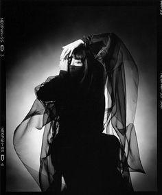 モデルの山口小夜子が生まれた。   1952-09-19   Time-AZ Yamaguchi Sayoko 山口 小夜子 (1949-2007) - Japan - 1970s