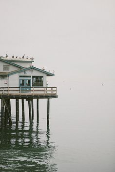 I wish I had me a beach/lake house. Preferably a beach house! Das Haus In Montevideo, Foto Fantasy, Cap Ferret, Am Meer, Beach Cottages, Beach Houses, Coastal Living, Coastal Cottage, Places To Go