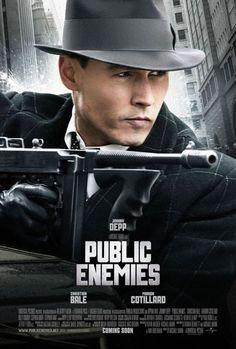 johnny depp movie posters | public enemies depp poster Public Enemies Poster Featuring Johnny Depp
