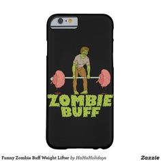 Funny Zombie Buff Weight Lifter