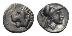 PAMPHYLIEN. Side. Obol. 4. Jhdt. v. Chr.