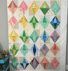 Jeweled quilt