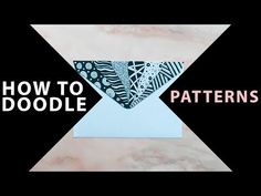 Easy DIY tutorial about how to draw different patterns in doodle style!