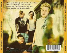Anthem for the underdog back cover 12 Stones, The Underdogs, 2000s, Culture, Cover, People, Movie Posters, Film Poster, People Illustration