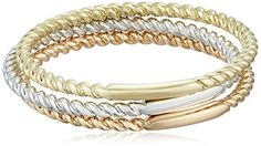 14k Gold 1mm Rope Band 3Piece Stackable Ring Set Size 7 -- Check out this great product.Note:It is affiliate link to Amazon.