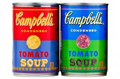 Campbell's Celebrates 50 Years of Andy Warhol with Pop Art Soup Cans