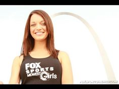 Jessica was selected to be a Fox Sports Midwest Girl!  She was the Brand Ambassador for Fox Sports and appeared in commercials for the St. Louis Cards, Blues and Rams!
