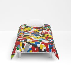Buy The Lego Movie Comforters By Martinlucas. Worldwide Shipping Available  At Society6.com.