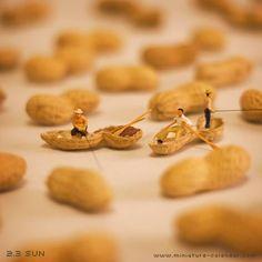 Peanut  http://miniature-calendar.com/130203/