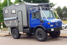 Unimog camper box motorhome camping car