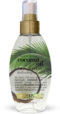 OGX Nourishing Coconut Oil Weightless Hydrating Oil Mist Ulta.com - Cosmetics, Fragrance, Salon and Beauty Gifts
