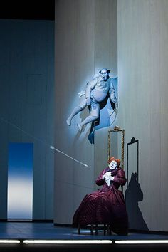 """The Berliner Ensemble returns to the Brooklyn Academy of Music, in tandem with the director Robert Wilson, to present """"Shakespeare's Sonnets,"""" featuring a score by Rufus Wainwright. Set Design Theatre, Stage Design, Robert Wilson, Berliner Ensemble, Body Painting, Contemporary Theatre, Shakespeare Sonnets, Academy Of Music, Theatre Costumes"""
