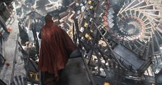 We speak to 'Doctor Strange' star Benedict Cumberbatch about the first moment he felt like a superhero in his latest film.