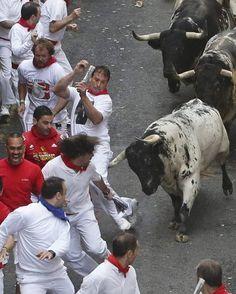 Las mejores imágenes del encierro de Torrestrella - RTVE.es 02
