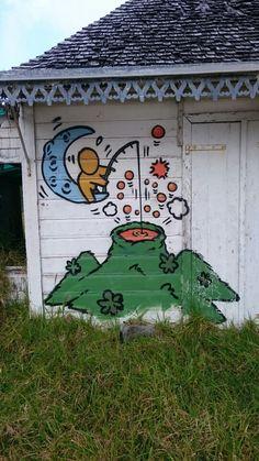 Gouzou - Jace île de la Réunion - emm@duch What To Draw, Caillou, Street Art Graffiti, Street Artists, Motifs, Urban Art, Les Oeuvres, Art Work, Cool Art