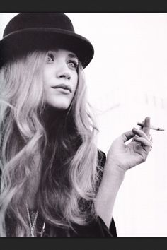 Mary-Kate olsen. I don't know what it is.. but she has that perfect, grungy style.