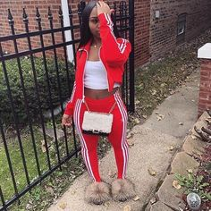 Neueste Winter-Teenager-Mode 00405 Source by Boujee Outfits, Baddie Outfits Casual, Cute Swag Outfits, Chill Outfits, Teenage Outfits, Dope Outfits, Teen Fashion Outfits, Outfits For Teens, Look Fashion