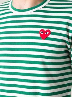 Comme Des Garçons Play Long Sleeved T-shirt - Noténom - Farfetch.com
