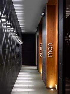 Применение встроенных светильников в общественных зданиях