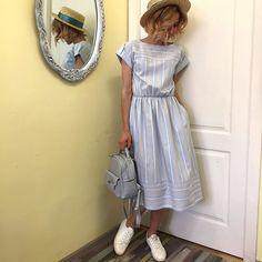 Наконец-то в наличии платье, которое не оставит вас и окружающих равнодушными❤️ Новинка от нашего ателье @santorini_atelier ✂️ Во всех размерах в нашем шоуруме Сегодня мы работаем до 18.00 ________________________________ ◁Платье в полоску, 3.400₽ ▷Размеры: s(42-44), m(46) ◁Состав: 100% хлопок ________________________________ #шьем #шьемсами #шьемслюбовью #ателье #шоурум #одежда #юбка #брюки #платье #блуза #топ #рубашка #дежавю #любимаяработа #шелк #шифон #кожа #замша #хлопок #лен…