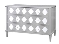 This #argyle style dresser from Bungalow 5 would look amazing in a #gray #nursery.