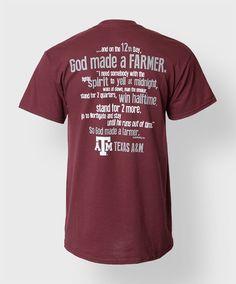 Texas A&M T-shirt! #AggieStyle