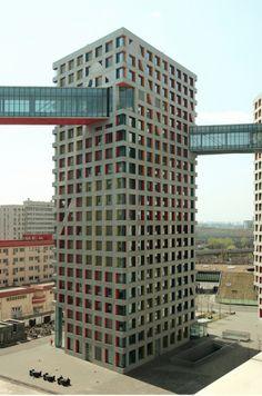 Linked Hybrid (MOMA), Beijing  Steven Holl Architects, 2009 - Photo: Trevor Patt