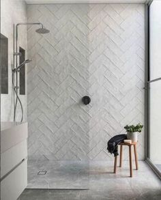 Serious kitchen and bathroom inspo in this historic Australian home renovation - bathroom - Bathroom Decor Attic Bathroom, Bathroom Renos, Bathroom Inspo, Bathroom Renovations, Bathroom Inspiration, Home Renovation, Modern Bathroom, Small Bathroom, Bathroom Ideas