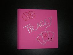 Personalised Swarovski Crystal Photo Album - Any design can be made for you.  Contact us at diamontedecor@hotmail.co.uk for any queries