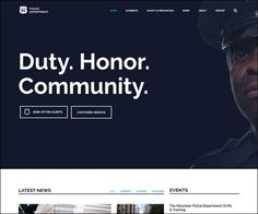 #Police Department and Security #Business #WordPress Theme : https://webdesignshare.com/2016/police-department-security-business-wordpress-theme/